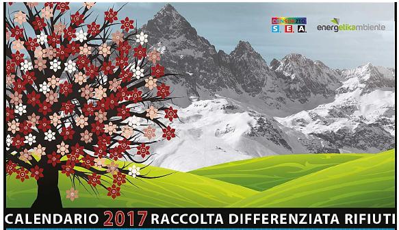 CALENDARI RACCOLTA PORTA A PORTA ANNO 2017