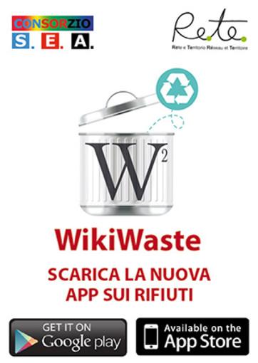 WikiWaste – La nuova app in materia di rifiuti